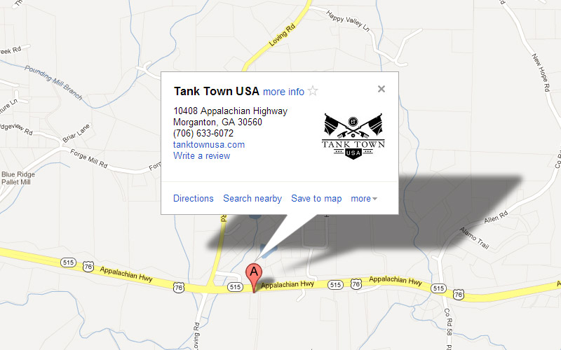 Map and Directions | Tank Town USA Map Directions Usa on home usa, the 50 states map with the usa, us map of usa, mapblast usa,